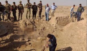 Iraq: hallan la fosa común más grande usada por el Daesh
