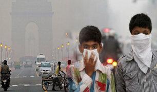 India: sigue alerta por los altos niveles de contaminación en Nueva Delhi