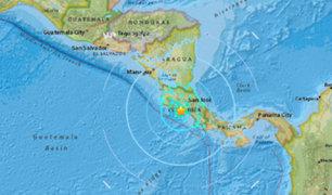 Costa Rica: sismo de magnitud 6.3 deja 3 muertos