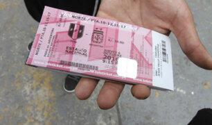 Perú vs. Nueva Zelanda: Contra reventa de entradas, Teleticket tomó esta drástica medida