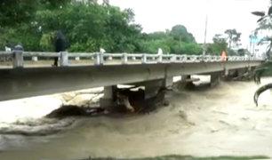 San Martín: desborde de río Cumbaza afecta a decenas de familias
