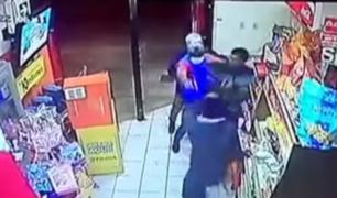 Surco: asesinan a policía por frustar asalto en minimarket