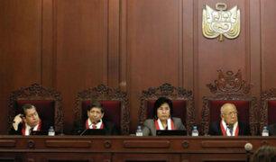 Magistrados del TC afirman que denuncia en su contra carece de sustento