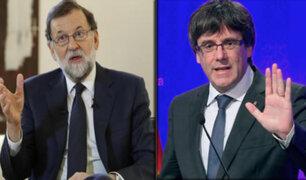 España: Rajoy considera que Puigdemont está inhabilitado políticamente