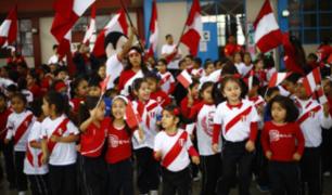 Perú vs Nueva Zelanda: calles, oficinas y colegios vistieron de rojo y blanco