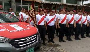 Peruanos alentaron a la 'Bicolor' previo al último duelo del repechaje