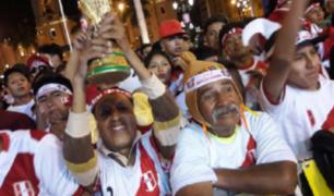 Celebración de peruanos al interior del país tras pase del Perú al Mundial