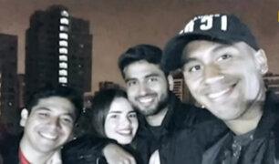 Seleccionados celebraron cupo al Mundial junto a familiares y amigos del barrio