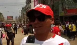 A un día del triunfo: hinchada peruana habla sobre la clasificación al Mundial