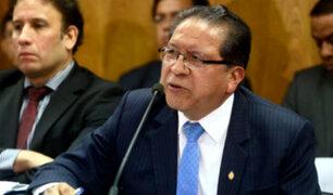 Especialistas opinan sobre eventual destitución del fiscal Pablo Sánchez