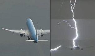 Holanda: rayo impacta un avión comercial con destino a Lima