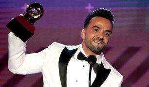 'Despacito' se convirtió en la máxima ganadora en los Grammy Latinos 2017