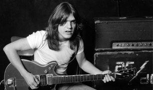 AC/DC: Muere Malcolm Young, guitarra de legendaria banda hard rock australiana