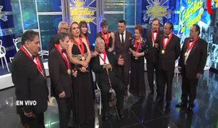 Elenco de Risas y Salsas se reúne en Porque Hoy es Sábado con Andrés