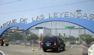 San Miguel: se registró incendio en el Parque de las Leyendas