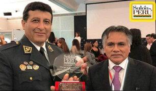 Orgullo peruano: coronel de la PNP recibe premio internacional