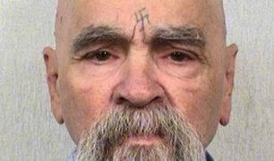Charles Manson murió a los 83 años