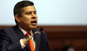 Galarreta rechaza fallo de la CIDH que resuelve archivar acusación a magistrados del TC