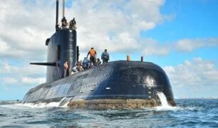 Argentina: oxígeno en submarino desaparecido duraría dos días