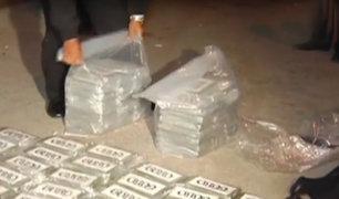 Callao: PNP captura a colombiano con más de 80 kilos de cocaína
