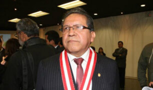 Designan a Pablo Sánchez como titular de la Primera Fiscalía Suprema Penal