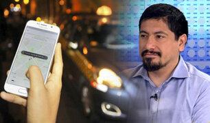 ¿Qué tan seguros son los taxis por aplicativos?, especialista analiza el tema