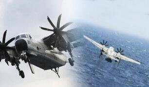 Filipinas: avión militar norteamericano se estrelló con 11 personas en el Océano Pacífico