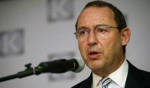 José Chlimper: No hubo ninguna pregunta sobre anotación de Odebrecht