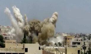Siria: al menos 12 muertos tras bombardeos en Damasco