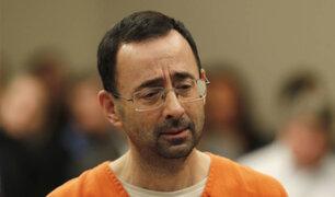 EEUU. Ex médico se declara culpable de cometer abusos sexuales