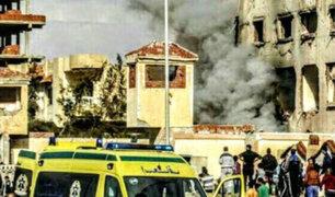 Egipto: Ataque terrorista en mezquita deja más de 300 muertos