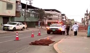 VMT: asesinan a hombre a balazos en plena calle