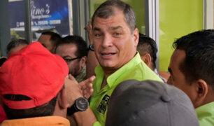 """Ecuador: Rafael Correa llamó """"traidor """" a presidente Lenín Moreno"""
