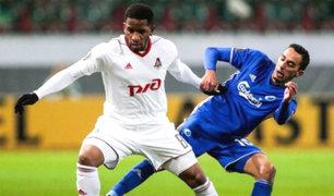 Jefferson Farfán anotó en la victoria del Lokomotiv de Rusia
