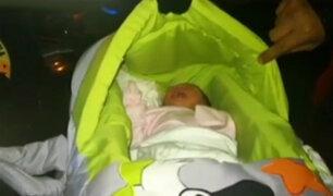 San Borja: abandonan a bebé en plena vía pública