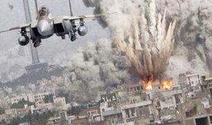 Bombardeo en Siria deja al menos 53 civiles muertos