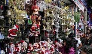Mesa Redonda: la fiebre navideña ya se vive en todo el Centro de Lima