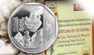 """Orgullo Peruano: moneda alusiva a la """"cerámica Shipibo-Konibo"""" gana premio internacional"""
