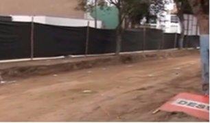 Así luce Lima con obras inconclusas a cuatro semanas de Navidad