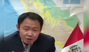 Congresistas de Fuerza Popular condenan comportamiento de Kenji Fujimori