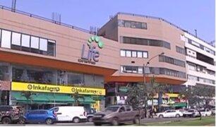 Asaltan agencia financiera dentro de centro comercial de Surco