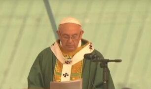 Papa Francisco emprendió un trabajo pastoral por todo el mundo en 2017