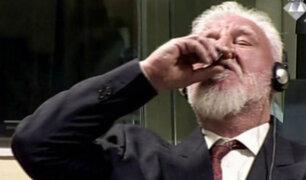 Holanda: comandante bosnio croata muere tras ingerir veneno en pleno juicio