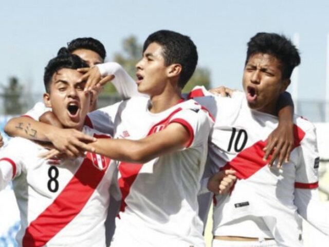 Sudamericano Sub 15: Perú arrasó con Bolivia 4-1 en su segunda victoria consecutiva
