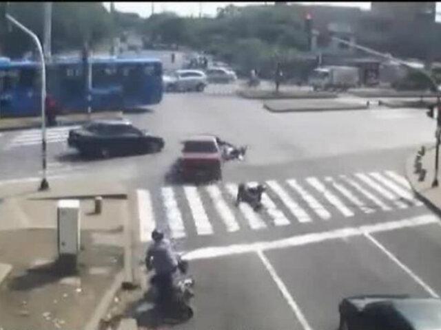 Mundo: se registran violentos accidentes de tránsito