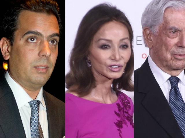 Hijo de Mario Vargas Llosa acusa de 'manipuladora' a Isabel Preysler