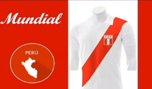 Selección Peruana: esta es la evolución de la camiseta 'rojiblanca' a lo largo de los años