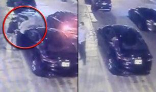 Surco: roban moderno vehículo a empresario en la puerta de su vivienda