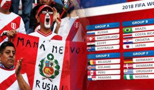 Plaza de Armas: cientos de personas se congregaron para ver el sorteo del Mundial