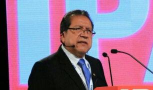 Pablo Sánchez pide al Congreso respetar la labor de los fiscales y su independencia